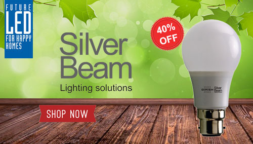 Silver Beam Led Lamp